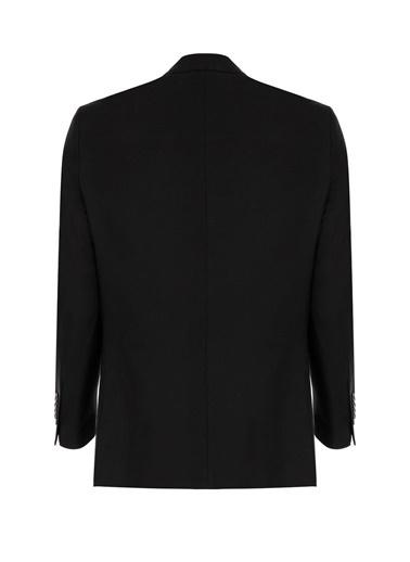 IGS Erkek Sıyah Slım Fıt / Dar Kalıp Std Takım Elbıse Siyah